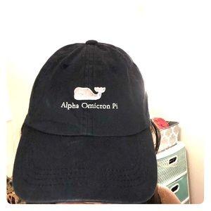 Alpha omicron pi vineyard vines hat